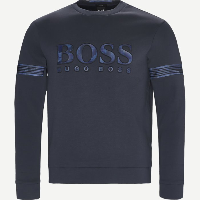 Salbonic Sweatshirt - Sweatshirts - Slim - Blå