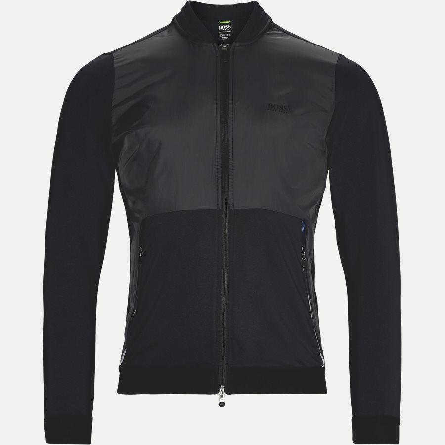 50382185 SYMOTECH - Symotech Sweatshirt - Sweatshirts - Slim - SORT - 1