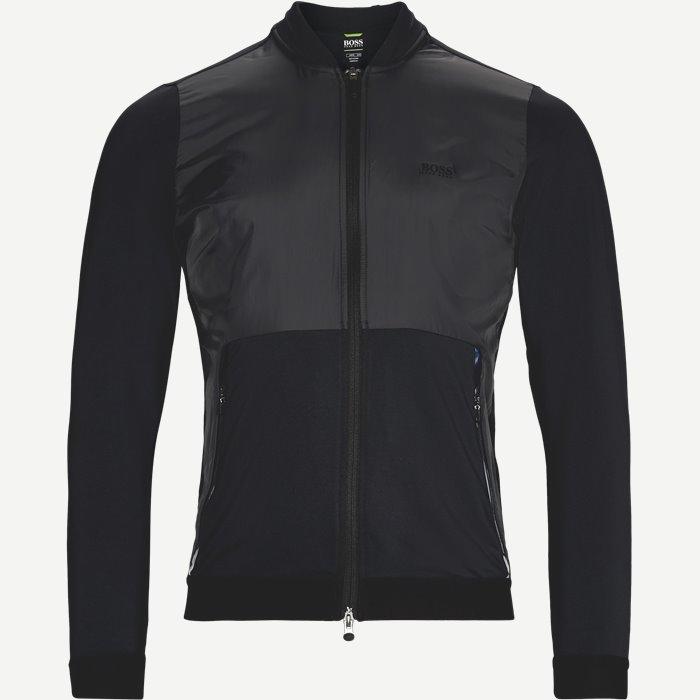 Symotech Sweatshirt - Sweatshirts - Slim - Sort