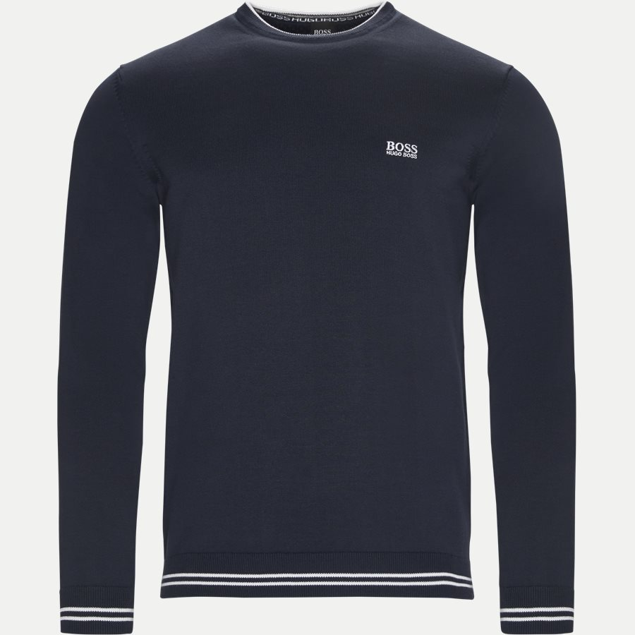 50378793 RIME - Rime Crew Neck Strik - Strik - Regular - NAVY - 1