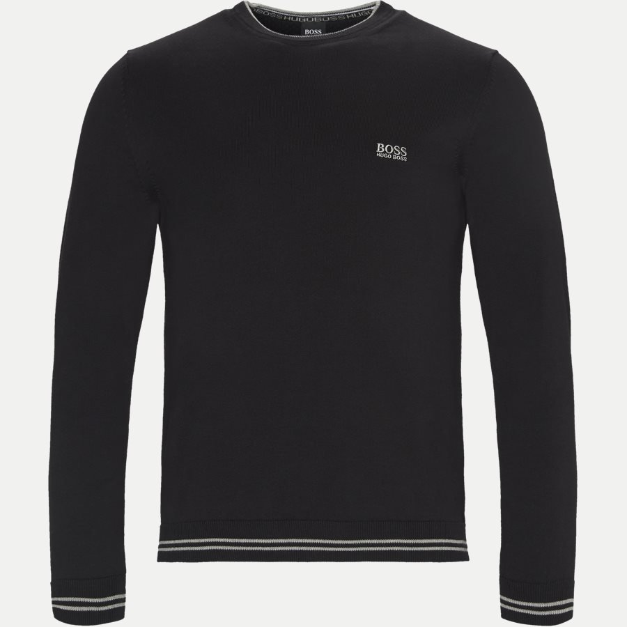 50378793 RIME - Rime Crew Neck Strik - Strik - Regular - SORT - 1