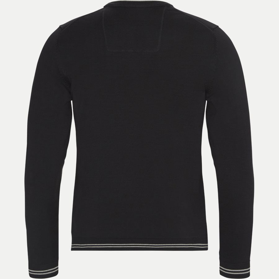 50378793 RIME - Rime Crew Neck Strik - Strik - Regular - SORT - 2