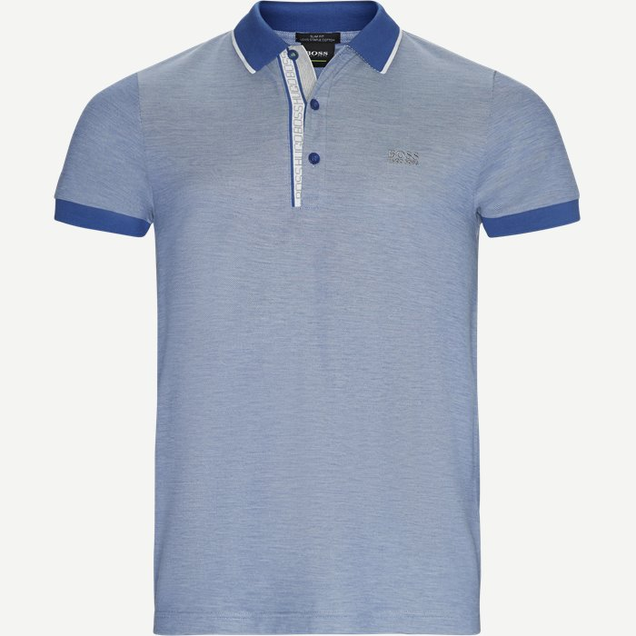 Paule4 Polo T-shirt - T-shirts - Slim - Blå