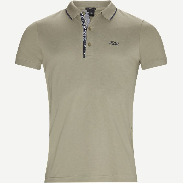 Paule4 Polo T-shirt - T-shirts - Slim - Army