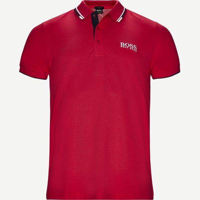 Paddy Pro Polo T-shirt - T-shirts - Regular - Pink