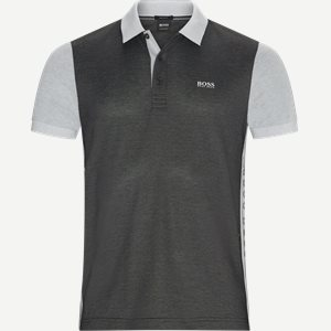 Paddy1 Polo T-shirt Regular | Paddy1 Polo T-shirt | Sort
