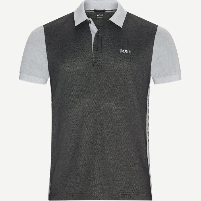 Paddy1 Polo T-shirt - T-shirts - Regular - Sort