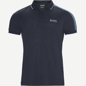 Paule Pro Polo T-shirt Slim   Paule Pro Polo T-shirt   Blå