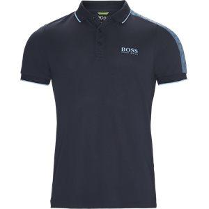 Paule Pro Polo T-shirt Slim | Paule Pro Polo T-shirt | Blå