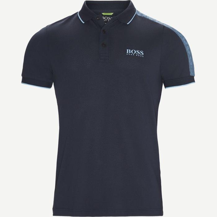 Paule Pro Polo T-shirt - T-shirts - Slim - Blå