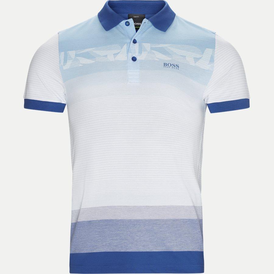 50383855 PAULE 6 - Paule6 Polo T-shirt - T-shirts - Slim - BLÅ - 1