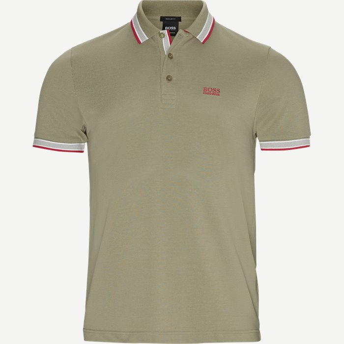 Paddy Polo T-shirt - T-shirts - Regular - Army