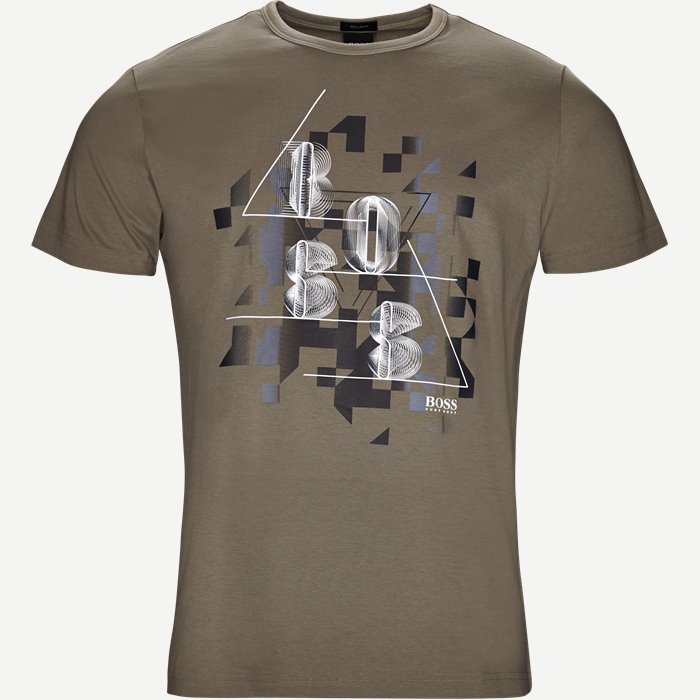 Tee3 T-shirt - T-shirts - Regular - Army