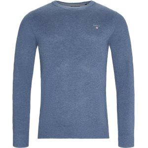 Pique Crew Sweater Regular   Pique Crew Sweater   Denim