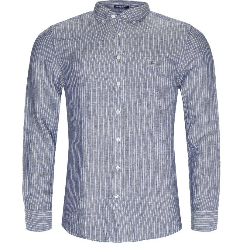 Image of   Gant - Linen Pinstripe Skjorte