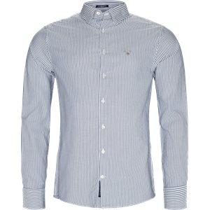 Tech Prep Oxford Skjorte Regular   Tech Prep Oxford Skjorte   Blå