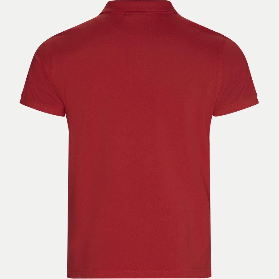 2201.. - Pique Polo T-shirt - T-shirts - Regular - RØD - 2