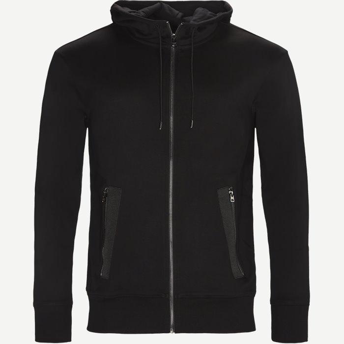 Dolve Hoodie Sweatshirt - Sweatshirts - Regular - Sort
