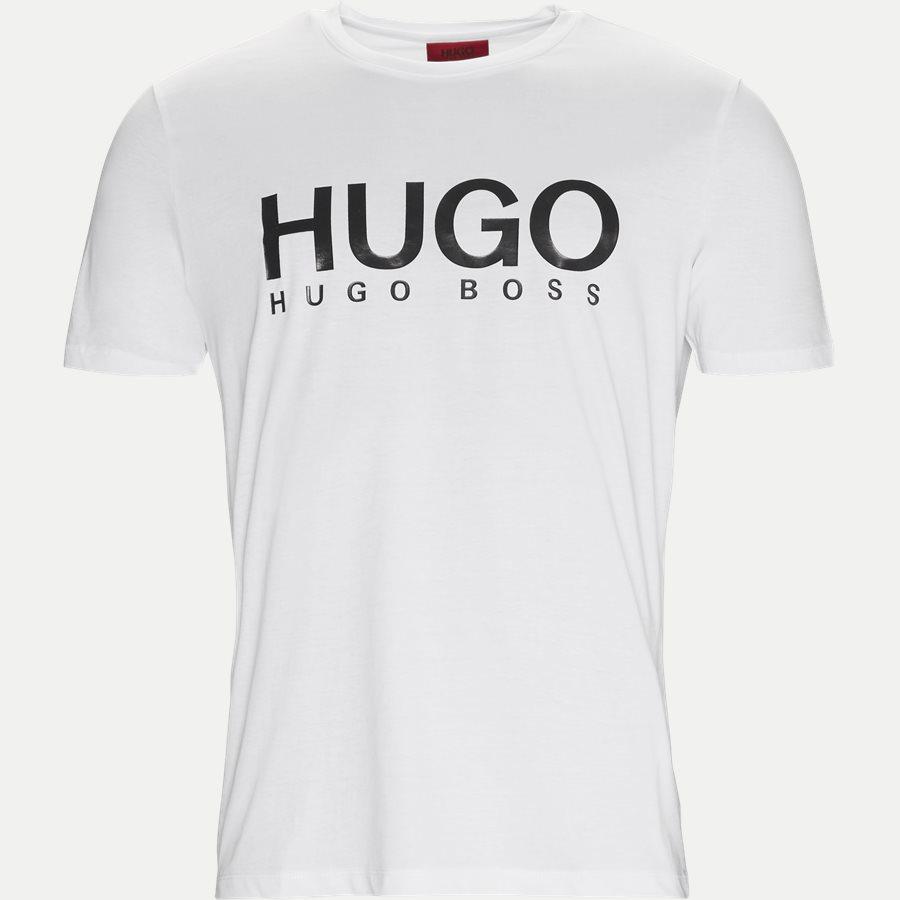 50387414 DOLIVE - Dolive T-shirt - T-shirts - Regular - HVID/SORT - 1