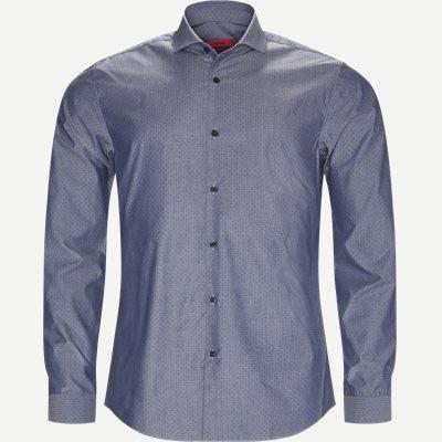 Erriko Skjorte Ekstra slim fit | Erriko Skjorte | Blå