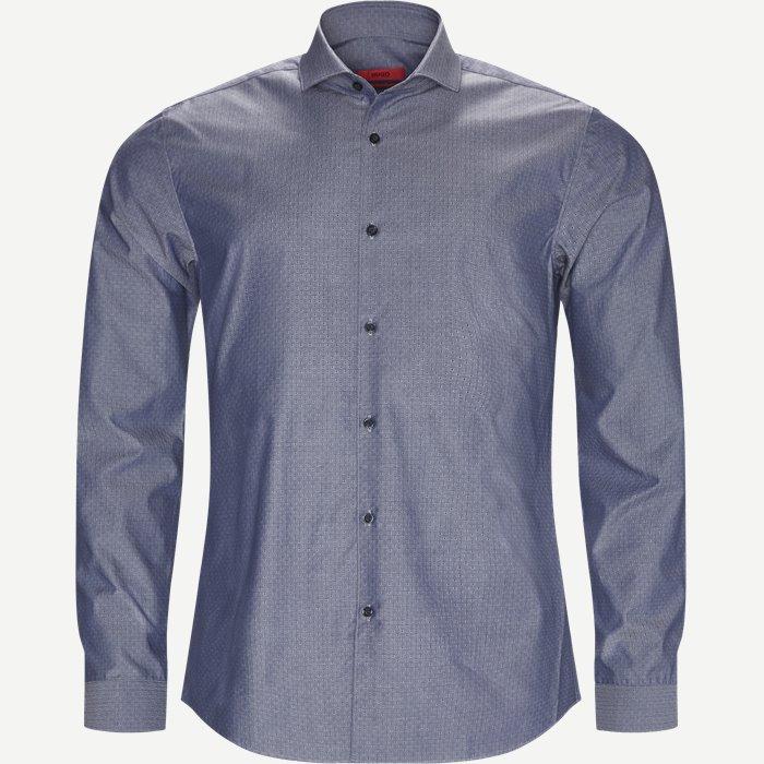 Erriko Skjorte - Skjorter - Ekstra slim fit - Blå