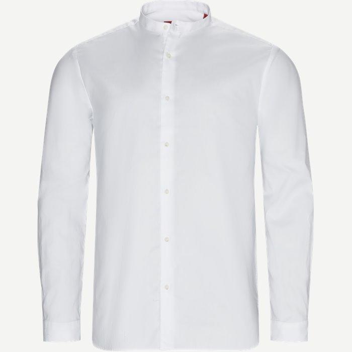 Eddison Skjorte - Skjorter - Relaxed fit - Hvid