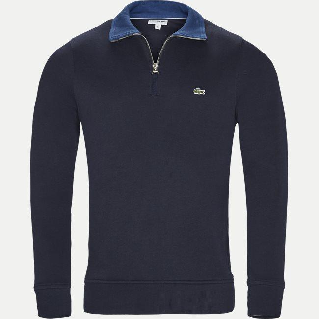 Ribbed Interlock Sweatshirt