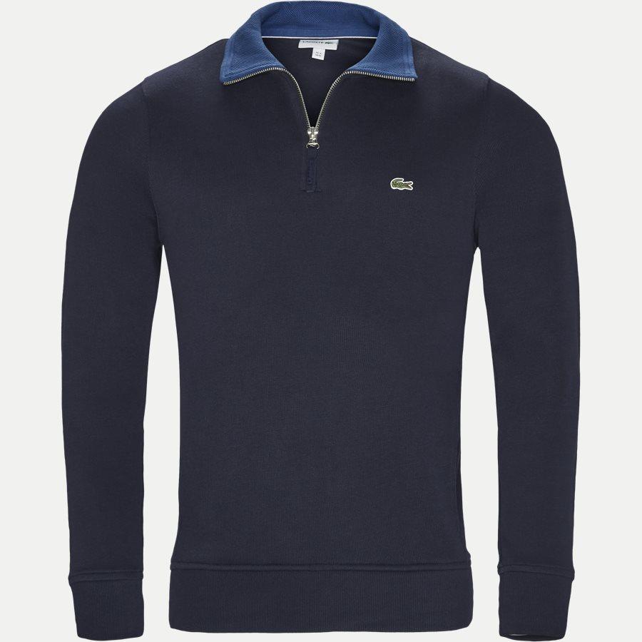 SH3293 - Ribbed Interlock Sweatshirt - Sweatshirts - Regular - NAVY - 1