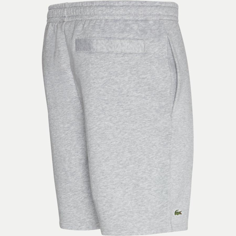 GH2136.. - Tennis Fleece Shorts - Shorts - Regular - GRÅ - 3