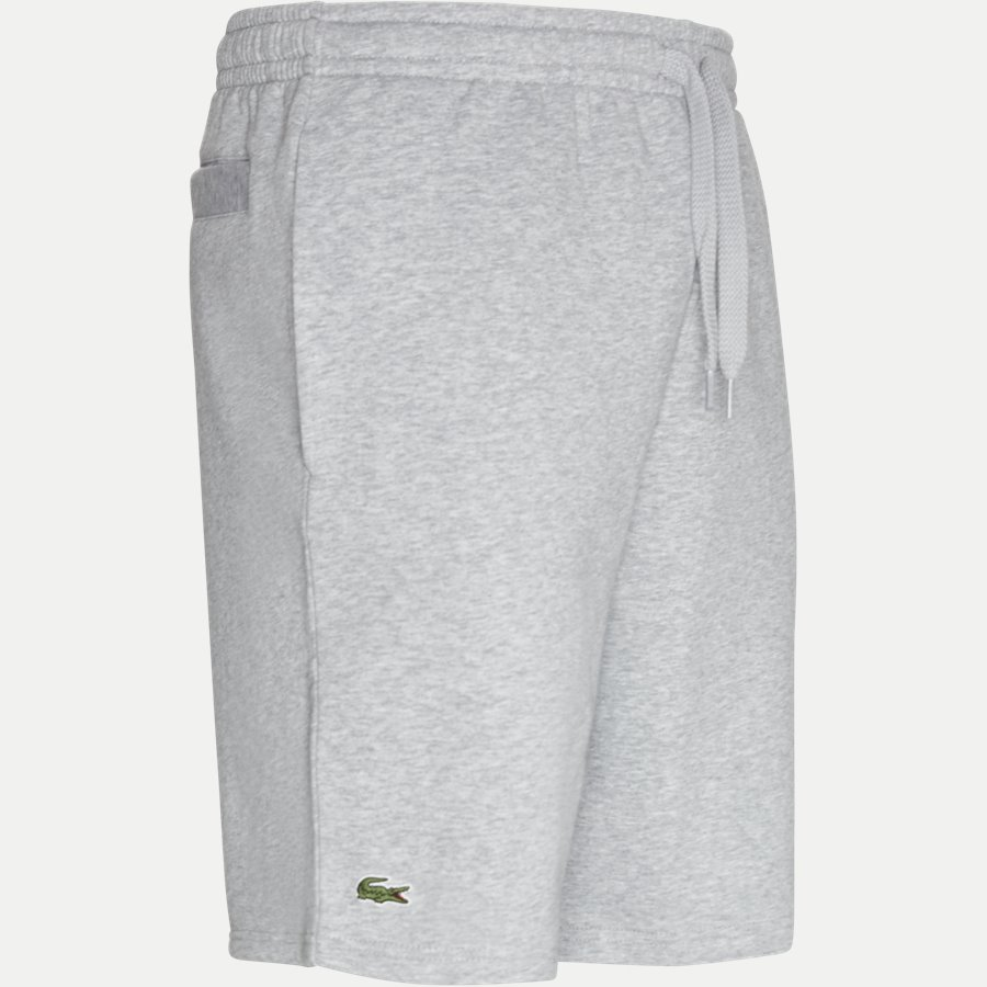 GH2136.. - Tennis Fleece Shorts - Shorts - Regular - GRÅ - 4