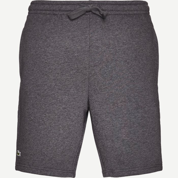 Tennis Fleece Shorts - Shorts - Regular - Grå