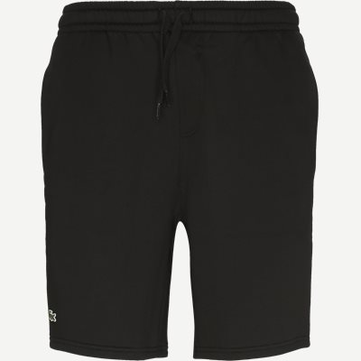 Tennis Fleece Shorts Regular | Tennis Fleece Shorts | Sort