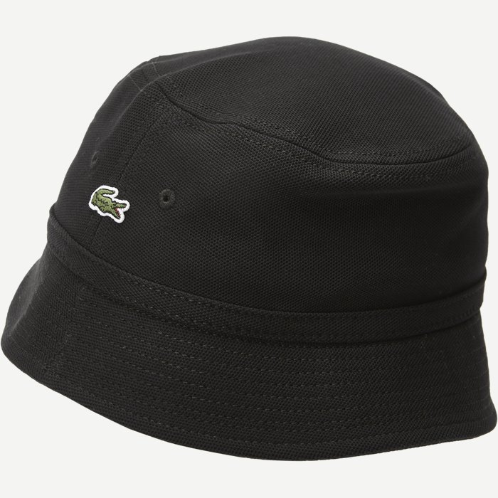 Pique Bucket Hat - Caps - Sort
