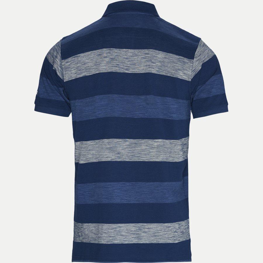 13257 966  - Pique Polo - T-shirts - Regular - BLÅ - 2
