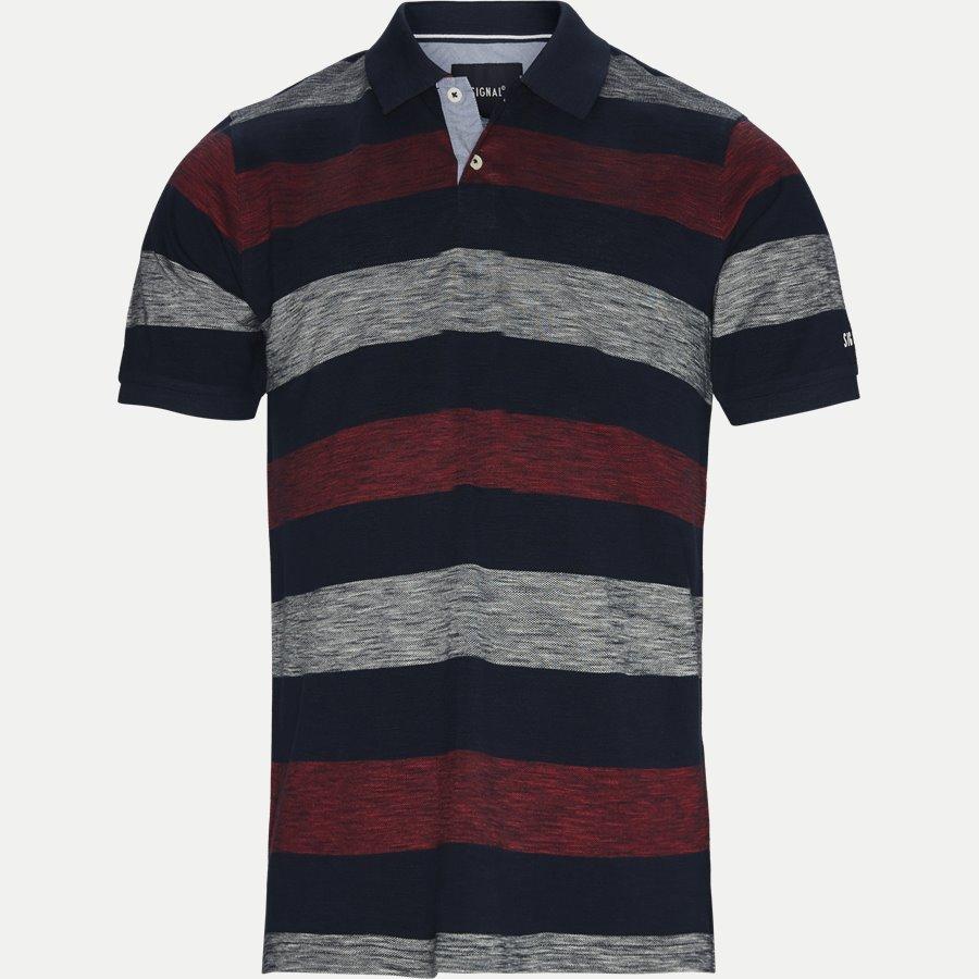 13257 966  - Pique Polo - T-shirts - Regular - RØD - 1