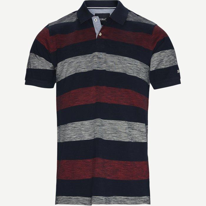 Pique Polo - T-shirts - Regular - Rød