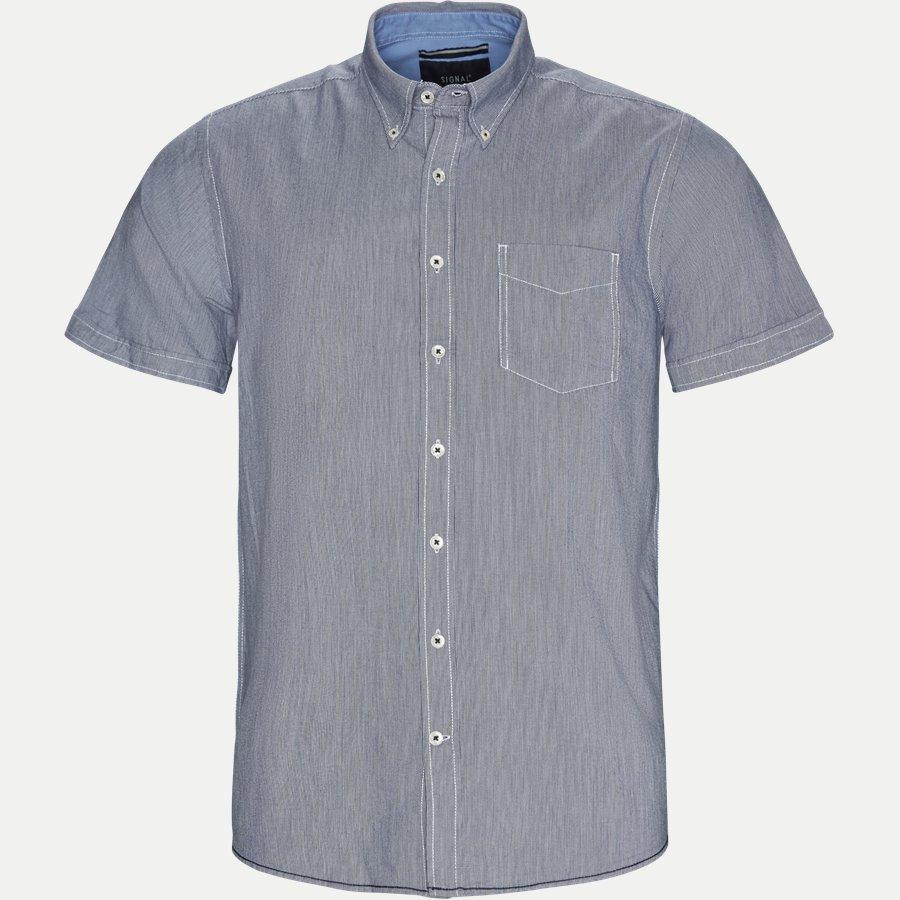 15236 932 - Kortærmet Skjorte - Skjorter - Regular - NAVY - 1
