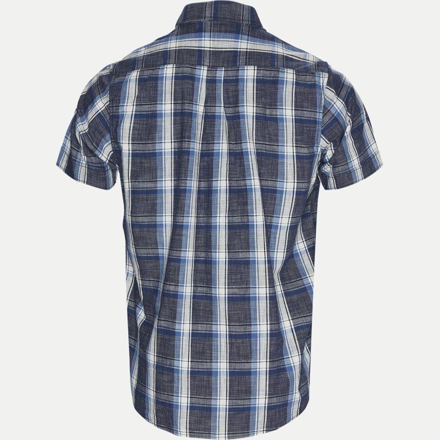 15238 941  - Kortærmet Skjorte - Skjorter - Regular - BLÅ - 2