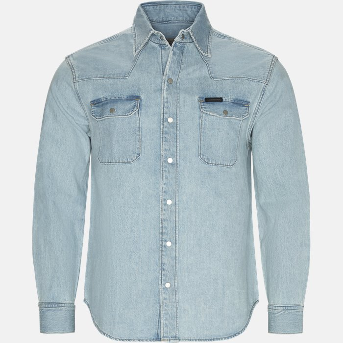 skjorte - Skjorter - Regular fit - Denim