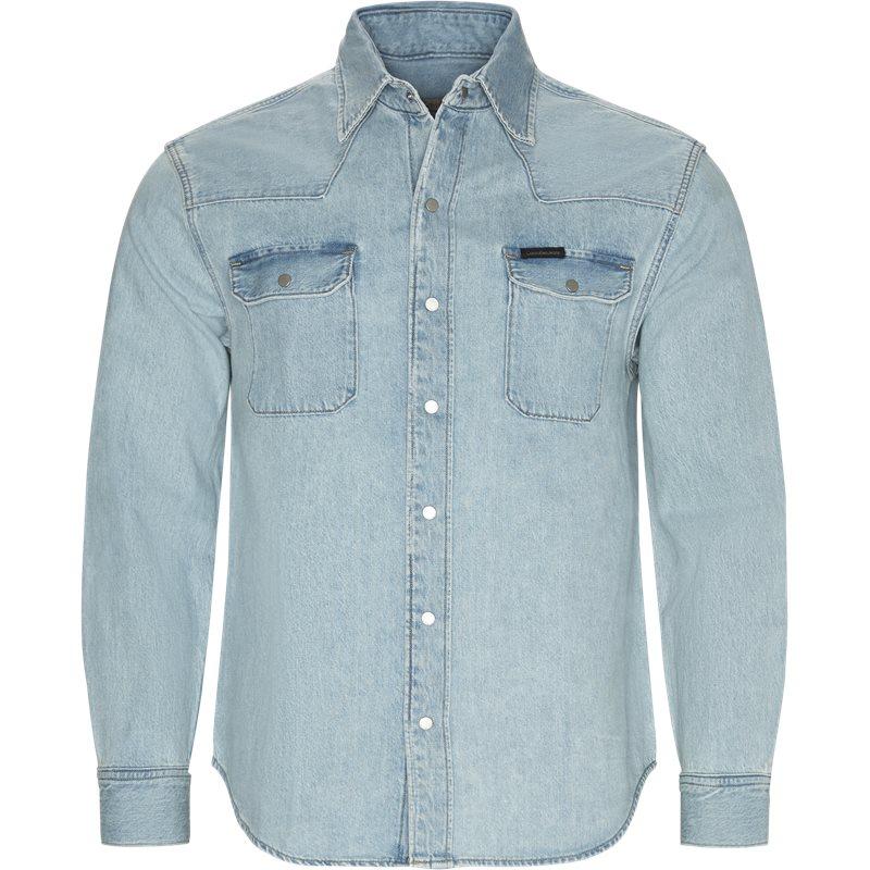 Calvin klein jeans skjorte denim fra calvin klein jeans på axel.dk