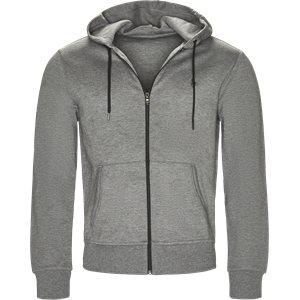 Tech Full Zip Hoodie Regular | Tech Full Zip Hoodie | Grå