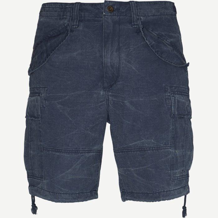 Cargo Shorts - Shorts - Regular - Blå