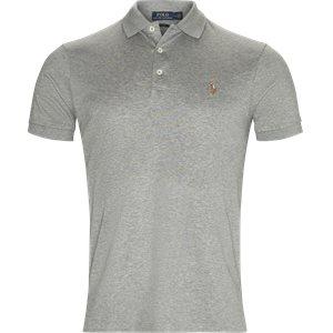 Cotton Polo T-shirt Slim | Cotton Polo T-shirt | Grå