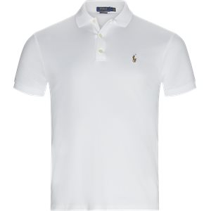 Cotton Polo T-shirt Slim | Cotton Polo T-shirt | Hvid