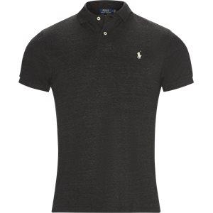 Short Sleeve Polo Regular slim fit | Short Sleeve Polo | Grå