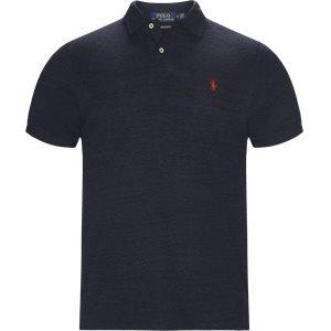 Short Sleeve Polo Regular slim fit | Short Sleeve Polo | Blå