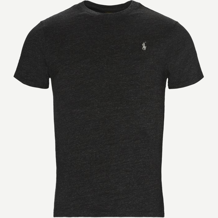 Crew Neck Tee - T-shirts - Regular slim fit - Grå