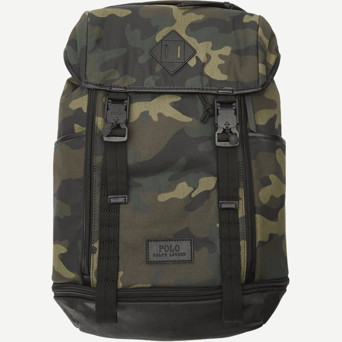 Cotton Camo Backpack - Tasker - Army