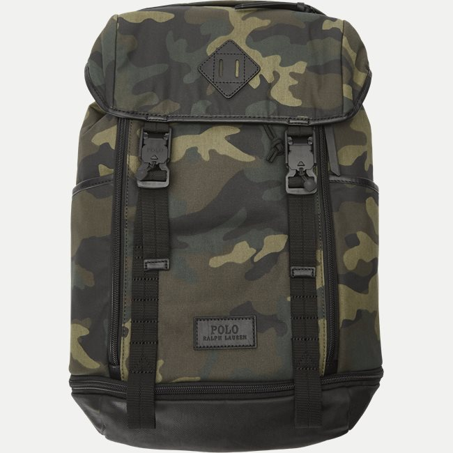 Cotton Camo Backpack