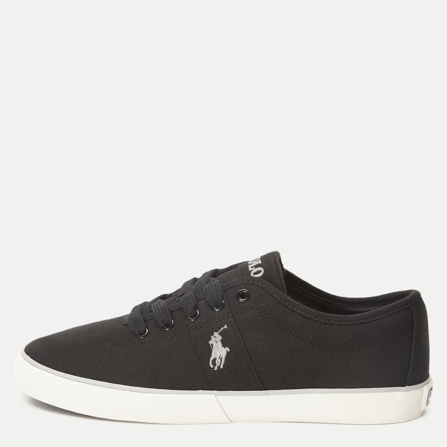 816690652 HALFORD - Halford Canvas Sneaker - Sko - SORT - 1